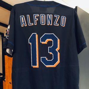 Alfonzo Brooklyn Cyclones Lightweight Jersey XL